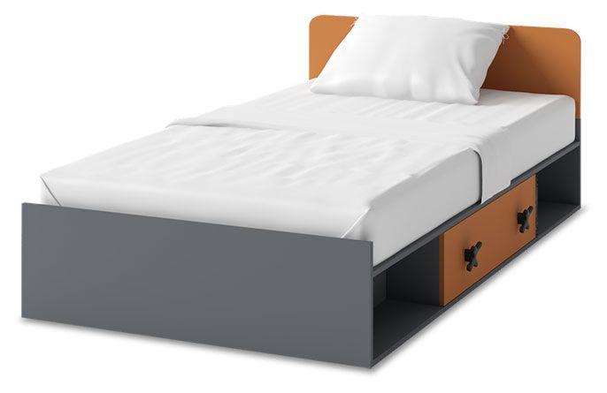 Łóżko z materacemI Iks X-16