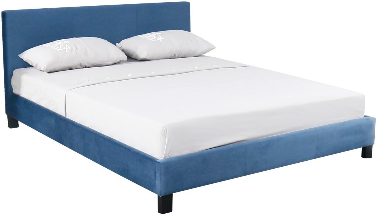 Łóżko Alina (niebieski)