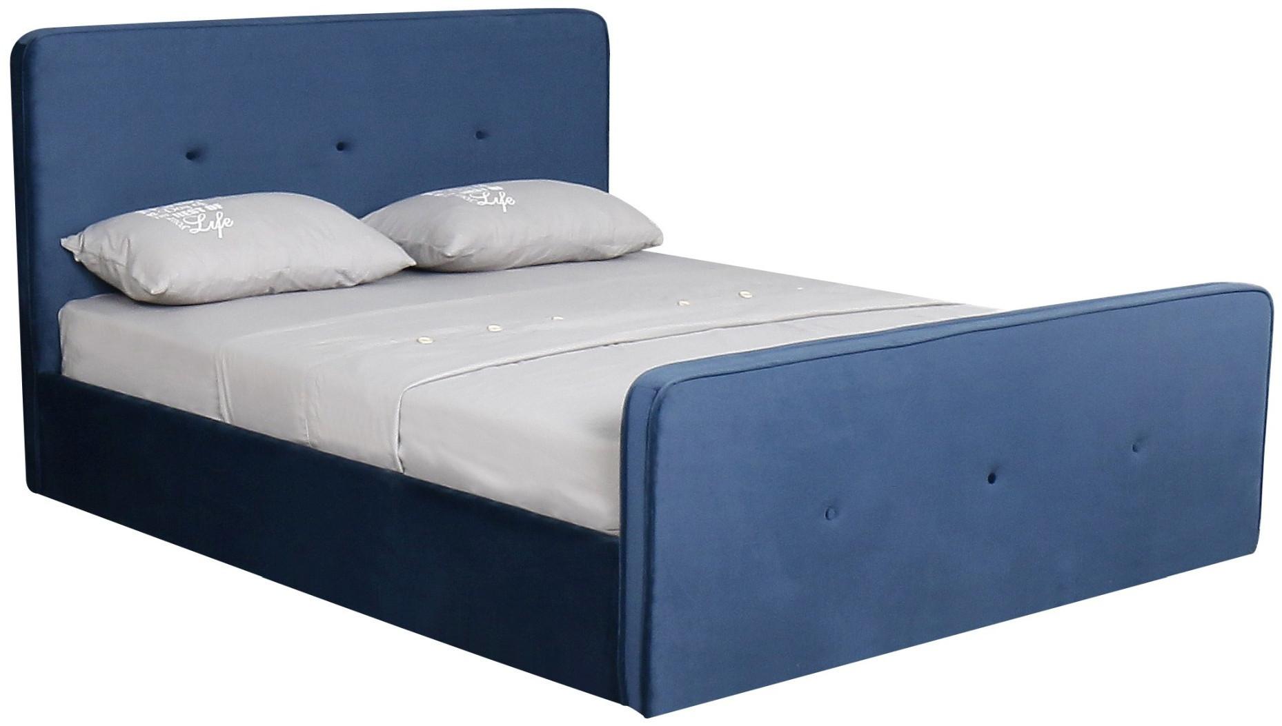 Łóżko Mila 2 (niebieski)