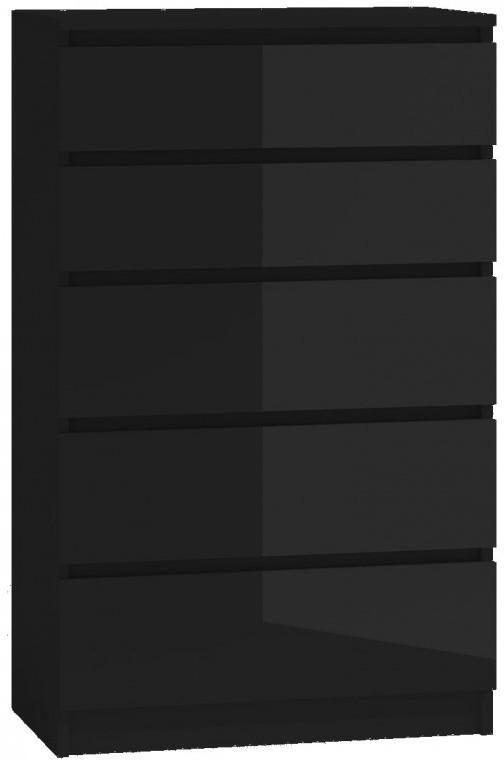Komoda Umo P5 (czarny połysk)